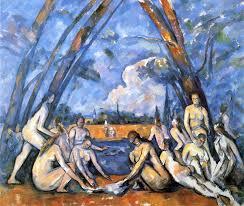 Cezanne, Yıkananlar, 1898-1906