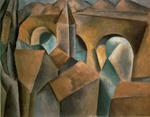 Picasso, Köprülü Manzara, 1908