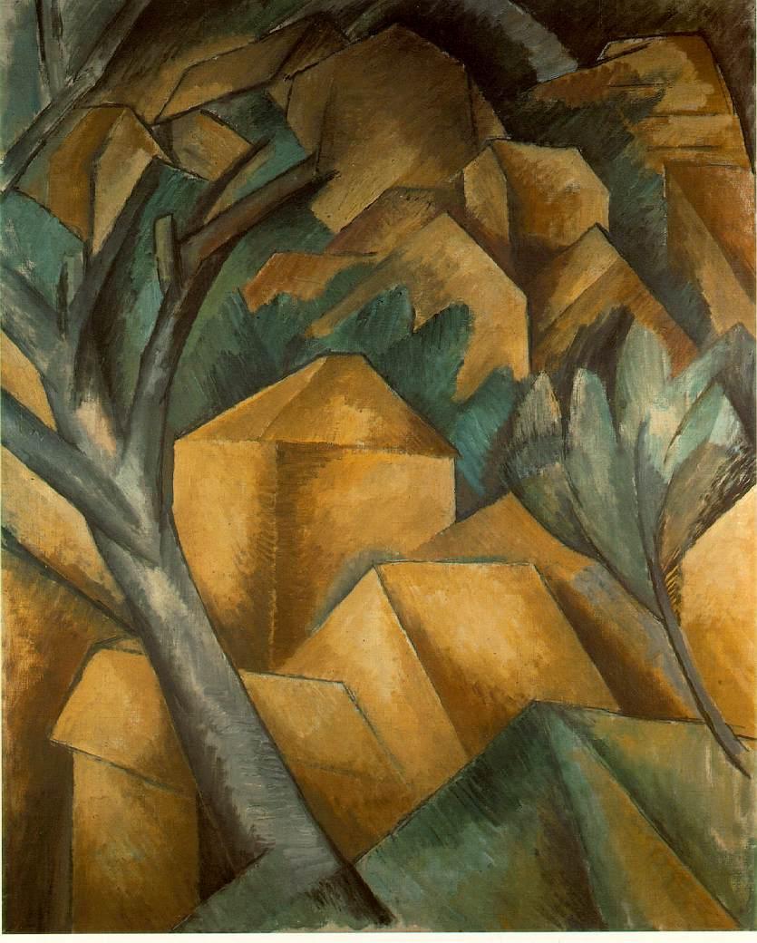 Braque, Estaque'da Evler, 1908