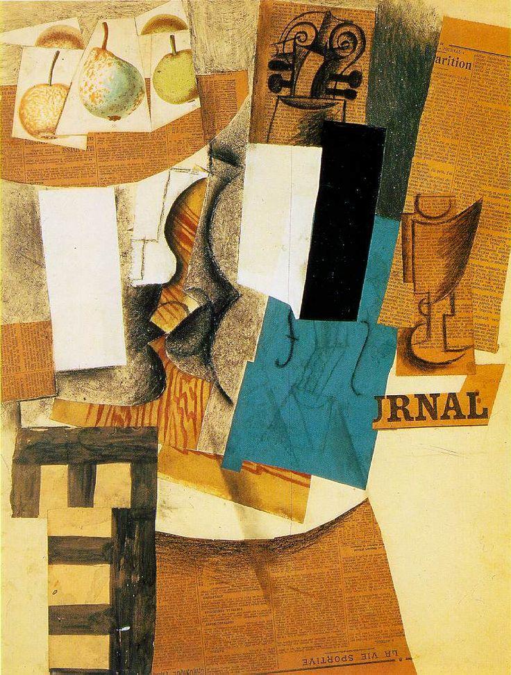 Picasso, Keman, 1913