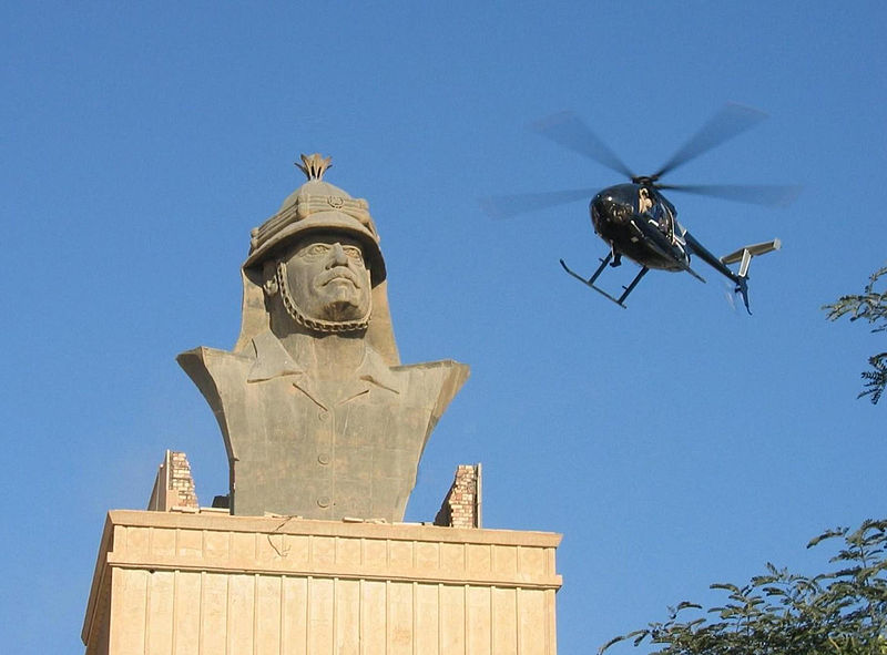 El Sallayalım - Bağdat'ta bir Blackwater helikopteri