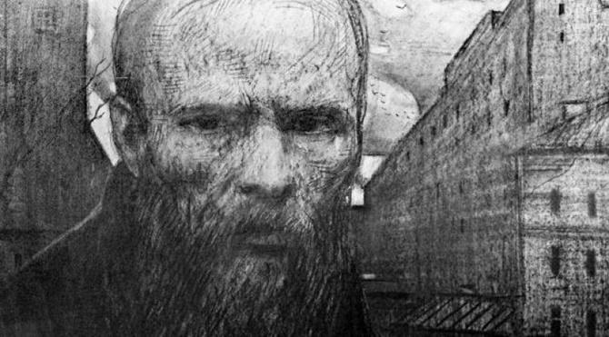 """""""A: Dostoyevski'nin Suç ve Cezasından bir alıntıyla başladım: 'Olağanüstü insanların, dünyaya yeni bir şey getirmek için geleneksel ahlak değerlerini hiçe sayma hakkı vardır.' """""""