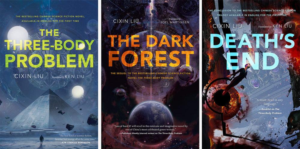 """""""Dünya'nın Geçmişine bir Anma"""" üçlemesi - Henüz sadece ilk kitap (Üç Cisim Problemi)Türkçe'ye çevrildi ama ilk kitabın sonu HBO dizileri gibi her şeyi askıda bırakıp okuru soru işaretleriyle baş başa ve huzursuz bırakmıyor - devam kitaplarıolmasa da ilk kitap tek başına anlamlı ve tam."""