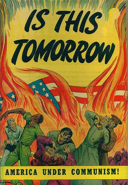 Komünizm karşıtı Propaganda Afişi - ABD.