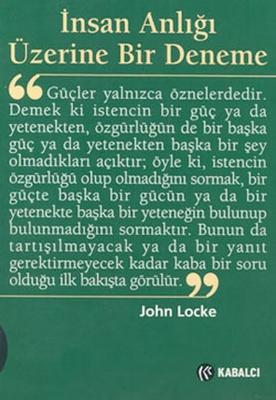 John Locke – İnsan Anlığı Üzerine Bir Deneme