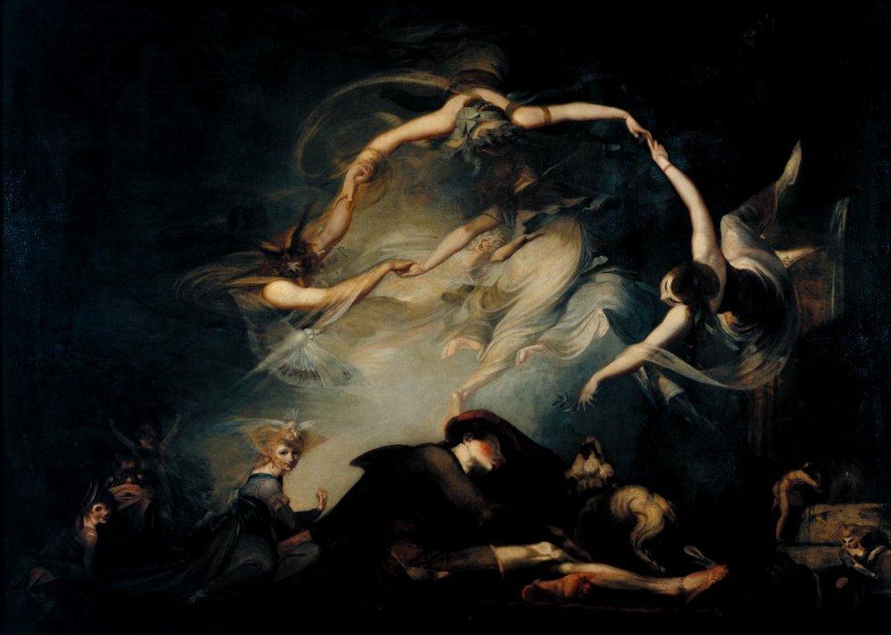 Henry Fuseli - Cobanin Ruyasi (1793) Tate Müzesi'ndedir.