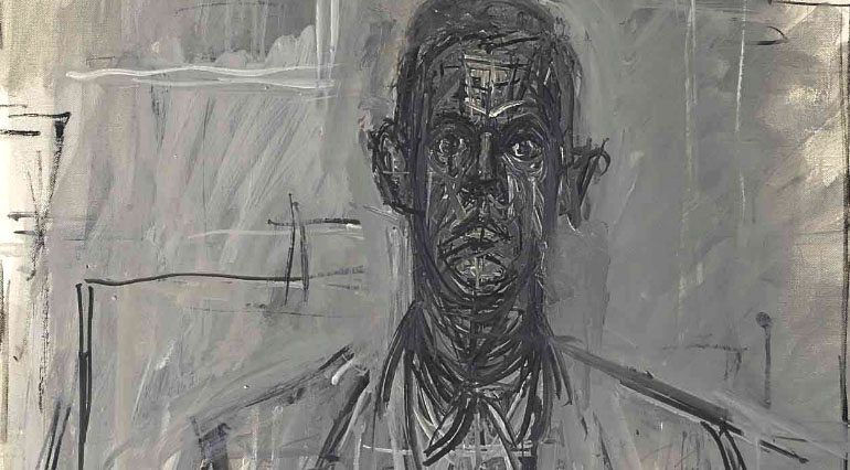 James Lord Portresi - Alberto Giacometti (1964)