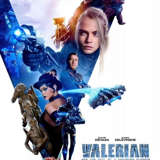 Valerian ve Bin Gezegen İmparatorluğu - Valerian and the City of a Thousand Planets