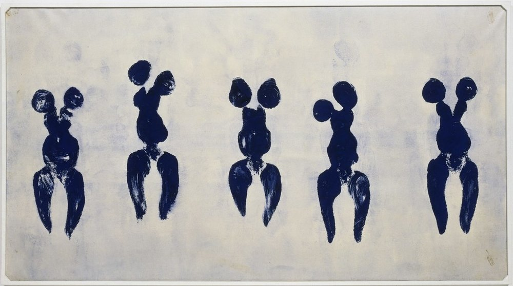 Yves Klein - Anthropometry of the Blue Period