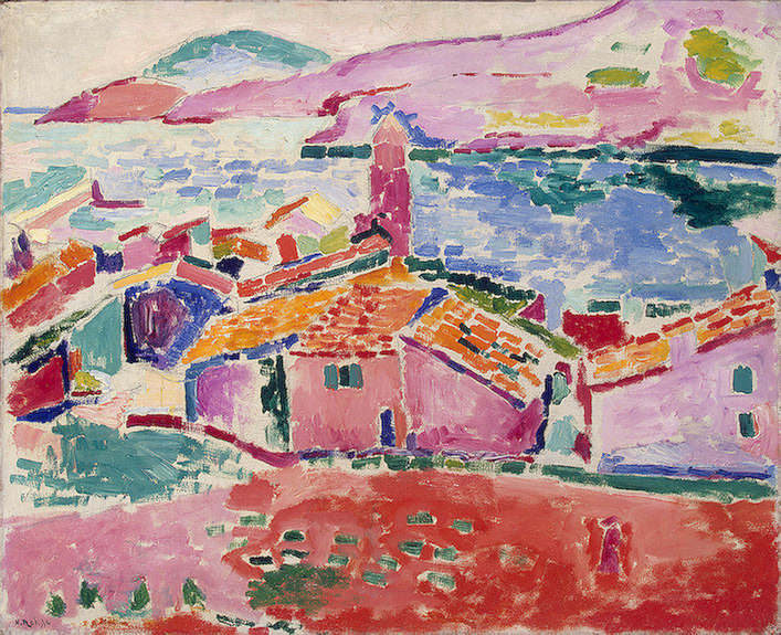 Fovizm 1898 yılında Pris'te ortaya çıktı, renk kullanılımı natüralizmden koparttı. Canlı, güçlü, ana renkleri öne çıkartan ve bağıran renkler kullanıyorlardı ve bir eleştirmen bu yapılanıvahşilik olarak tanımladıve akımın adı Fauvizm (Vahşicilik ) olarak kaldı.  Hanri Matisse - Collioure Manzarası 1905