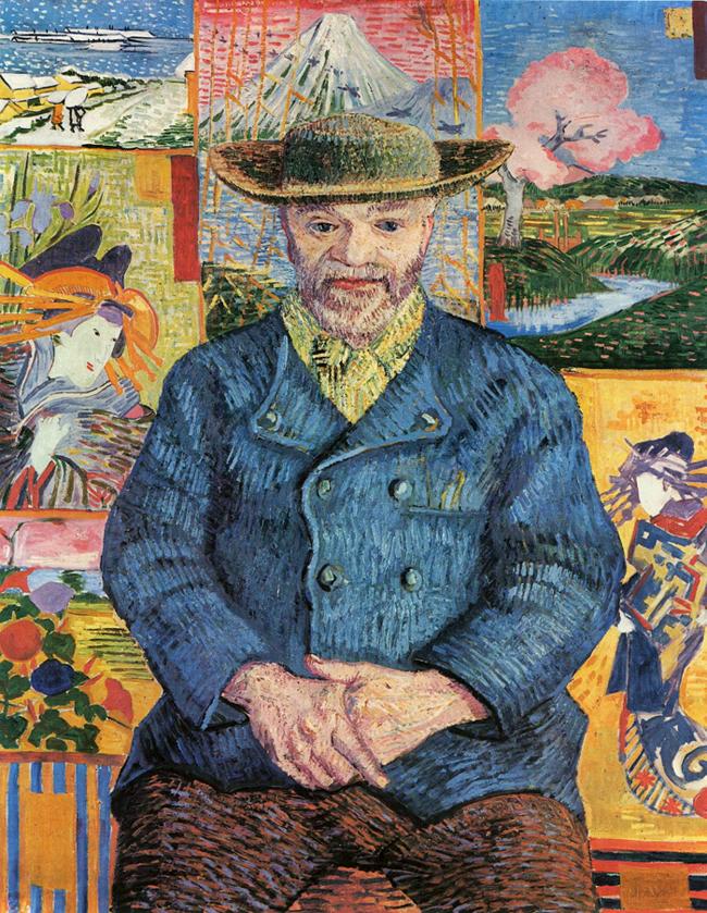 Pere Tanguy'un Portresi 1887