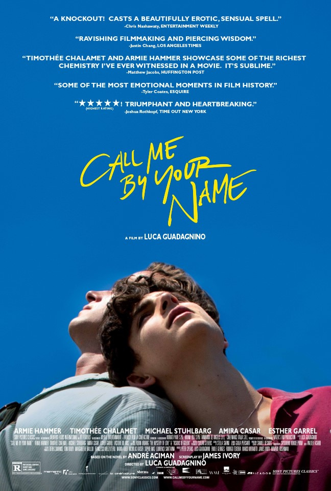 🥉 3 – Beni Adınla Çağır - Call Me by Your Name -