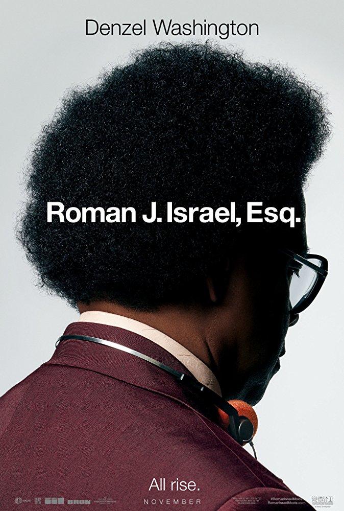 Roman J. ISrael, Esq. - Denzel Washington