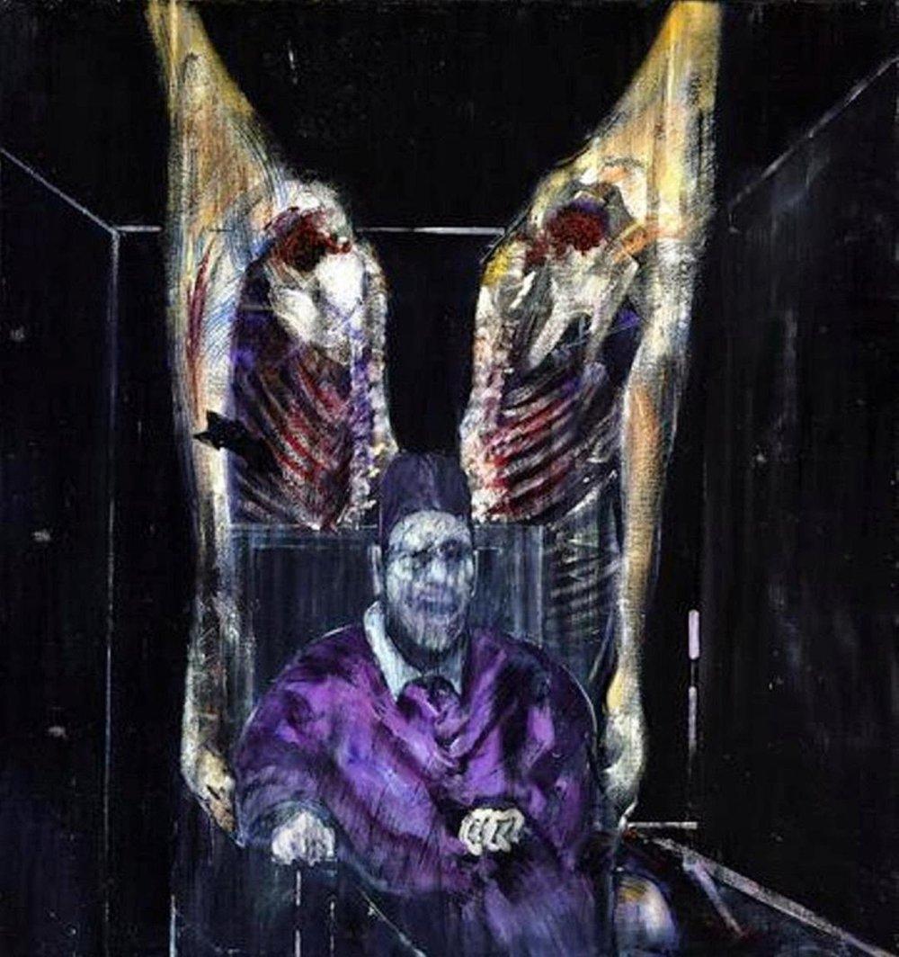 Francis Bacon - Etli Figür