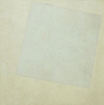 Kazimir Maleviç - Beyaz Üzerine Beyaz (1918)