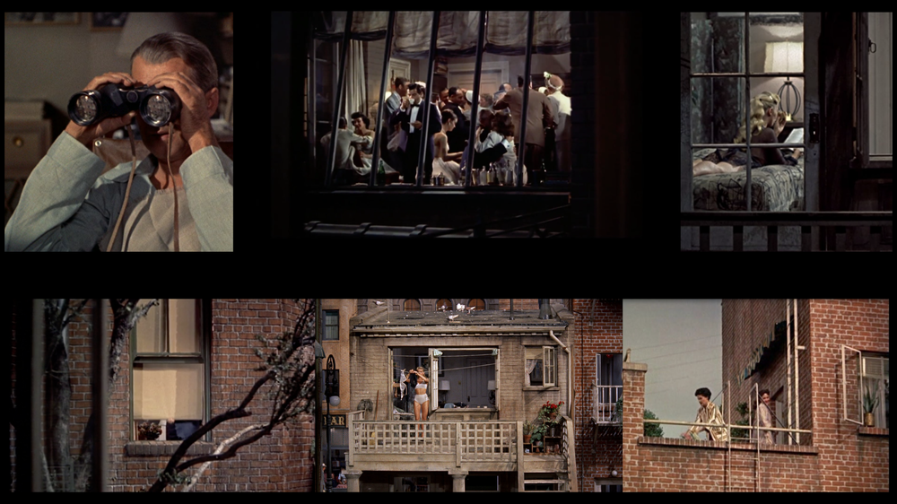 Arka Pencere -Rear Window (1954)  Alfred Hitchcock