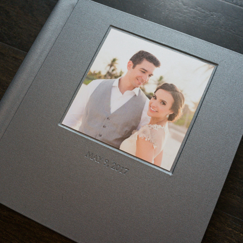 Carrie and Austin had a picture perfect Tulum wedding. They chose our Photo Inlay to house their favorite portrait from their special day.