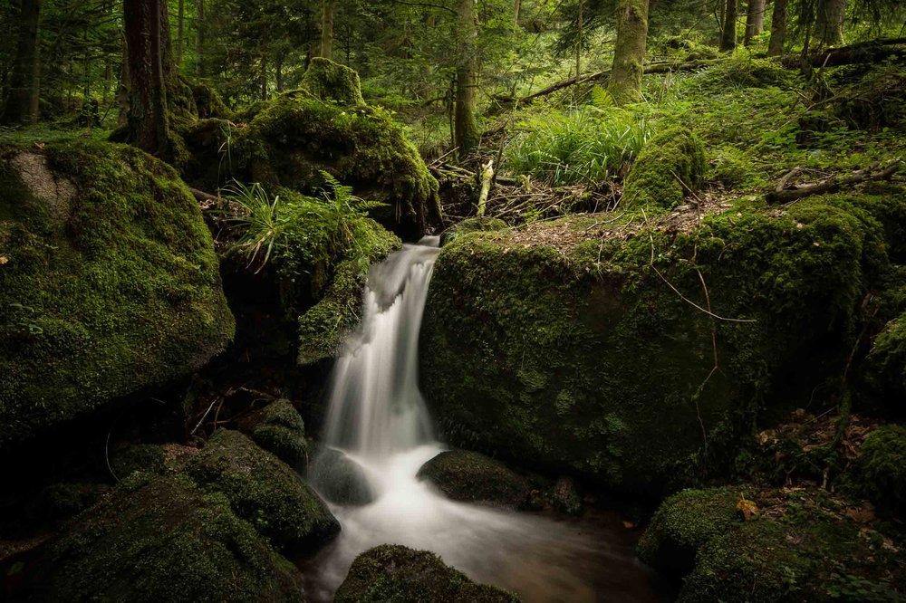 Gertelbacher Wasserfälle.