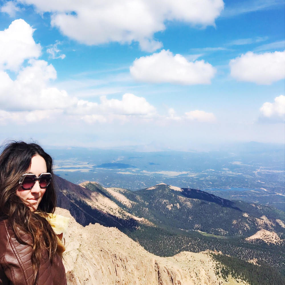 PIKE'S PEAK...ELEVATION 14,110 FT