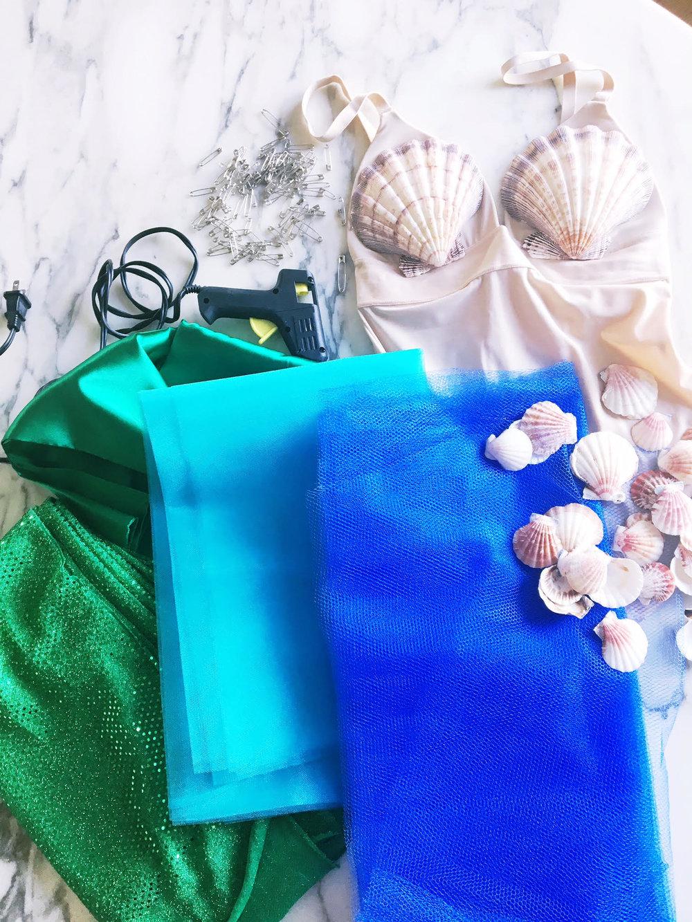 DIY Mermaid Costume