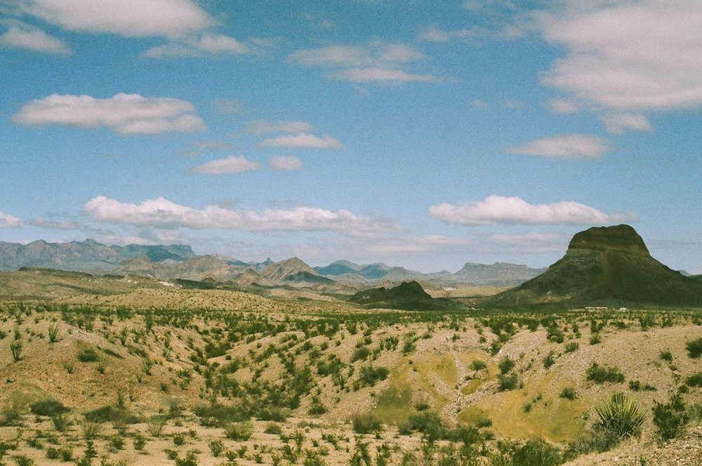 Big Bend National Park 35mm