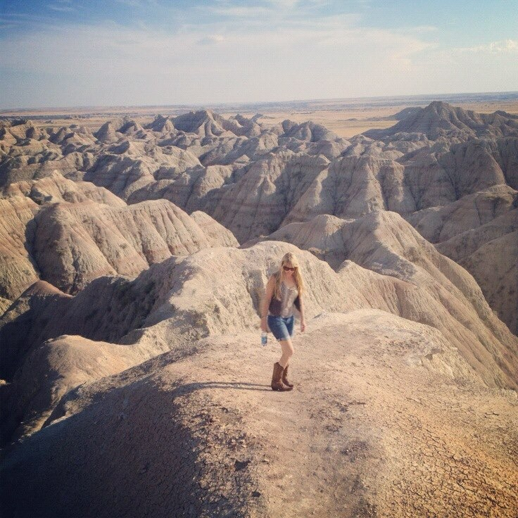 Me in Badlands National Park