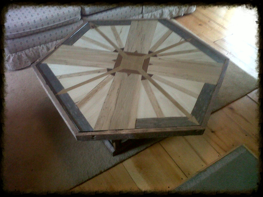 Compass Table - Custom one of Kind