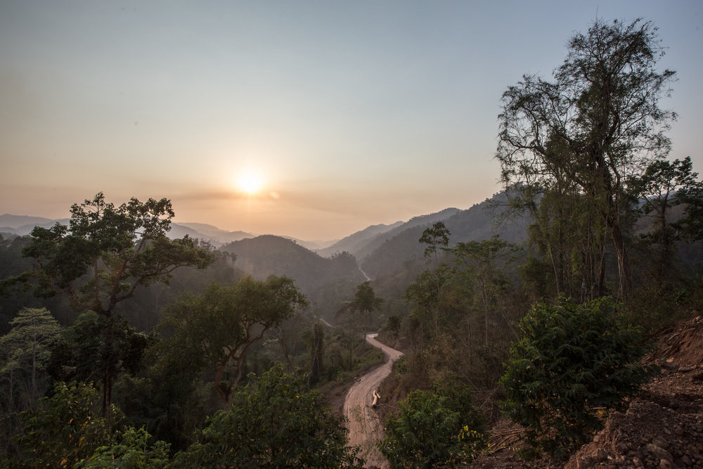 A landscape of forests and mountains in Myanmar. Photo Credit: © Minzayar Oo / WWF-US