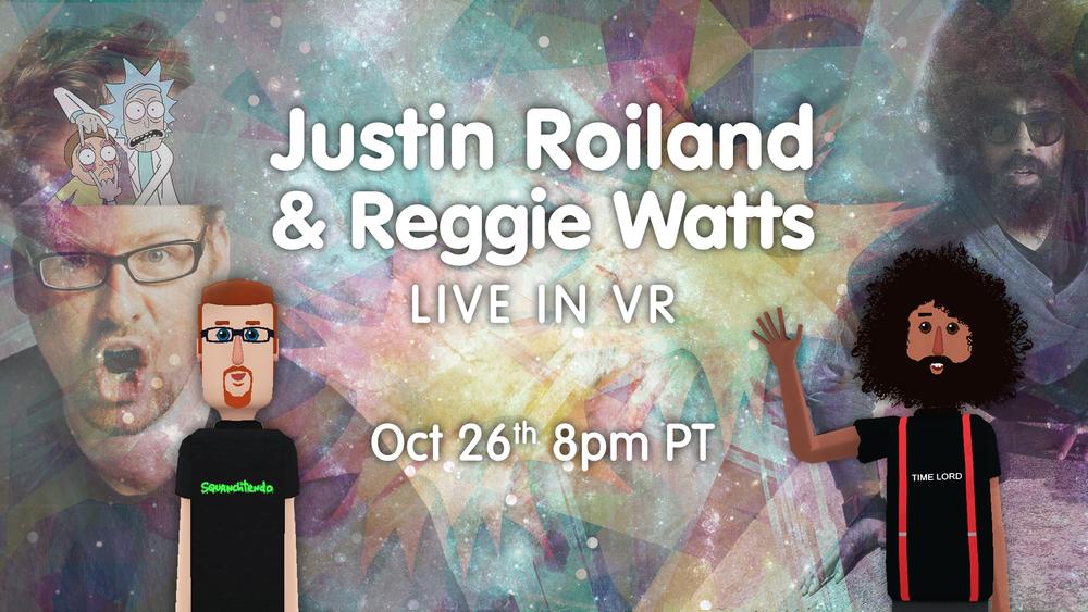 Justin Roiland & Reggie Watts Event