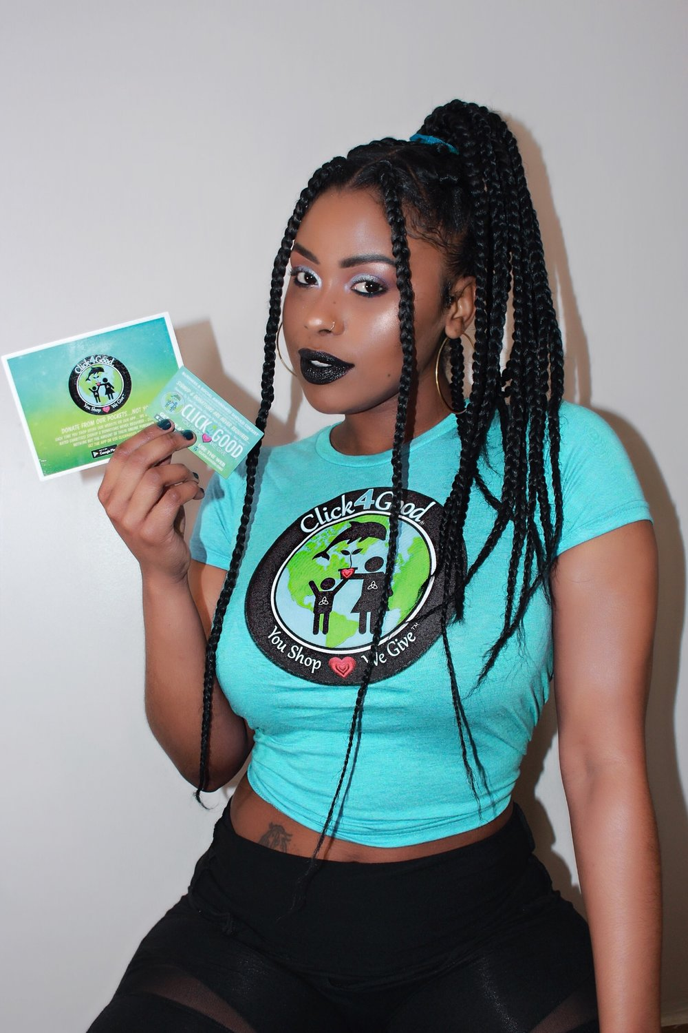 #SpreadTheLove Tell People About #Click4Good - Model: arielashantiii Photographer: @britefuture_