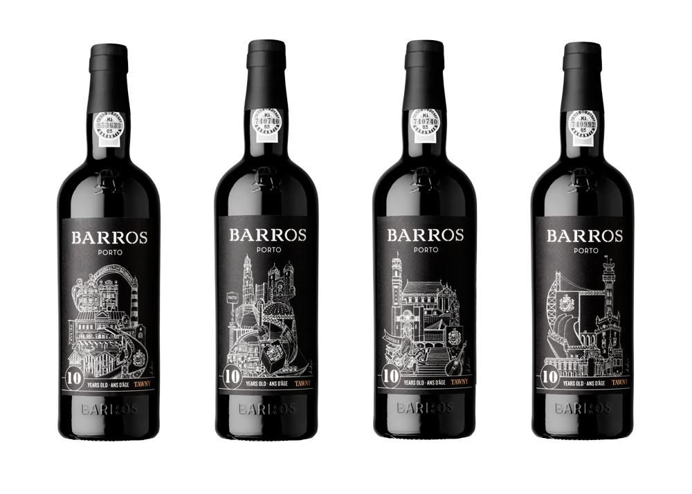 Labels for Porto, Aveiro, Coimbra and Lisbon.