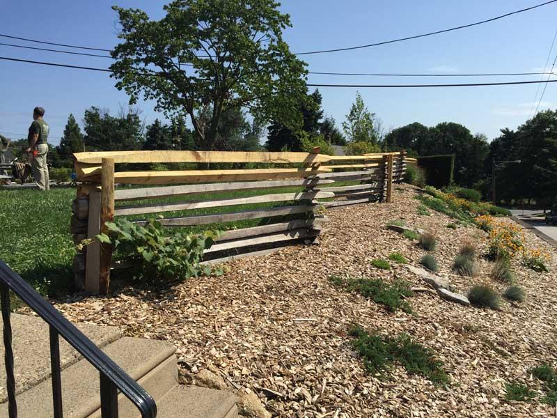 Preparing Site for Rock Garden