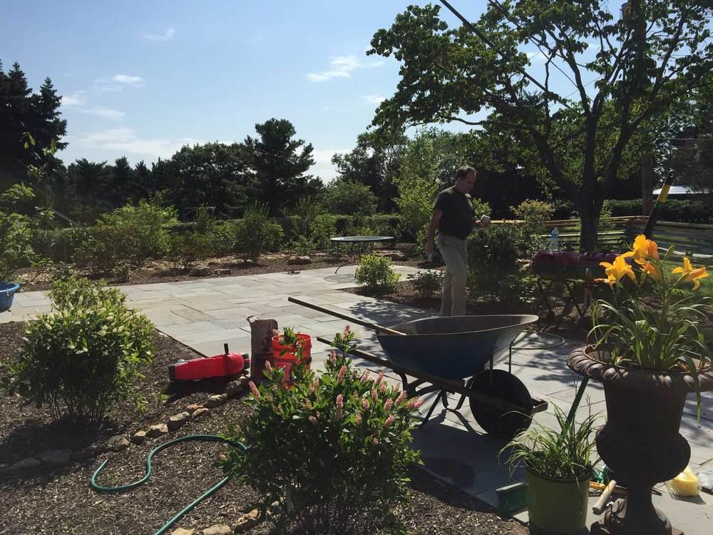 Installation of Native Fragrance Garden