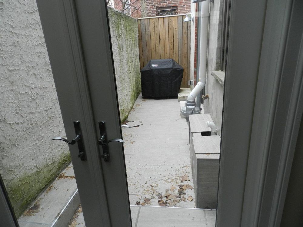 View from door BEFORE