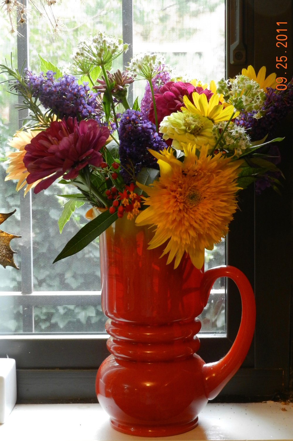 Summer Bouquet with Sun Perennials