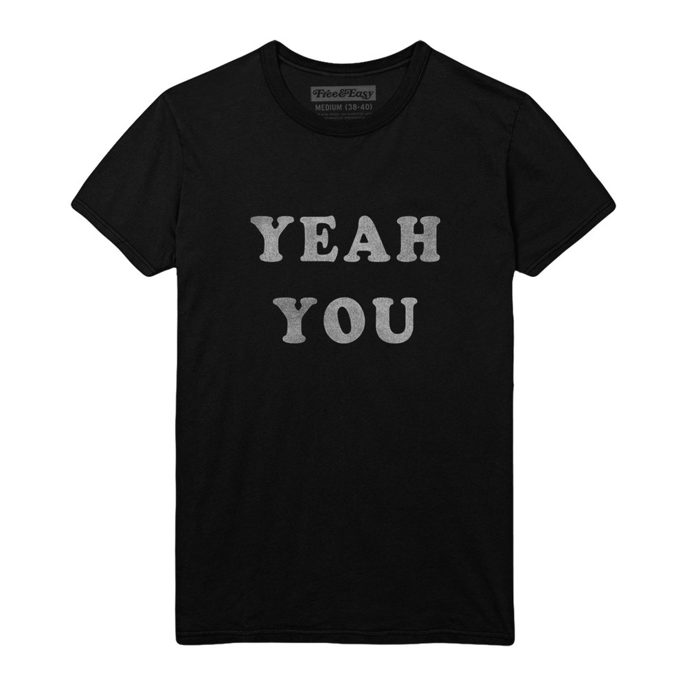 YEAH YOU SS TEE   STYLE #  SS0301   WHOLESALE: €29  SUGGESTED RETAIL: €65