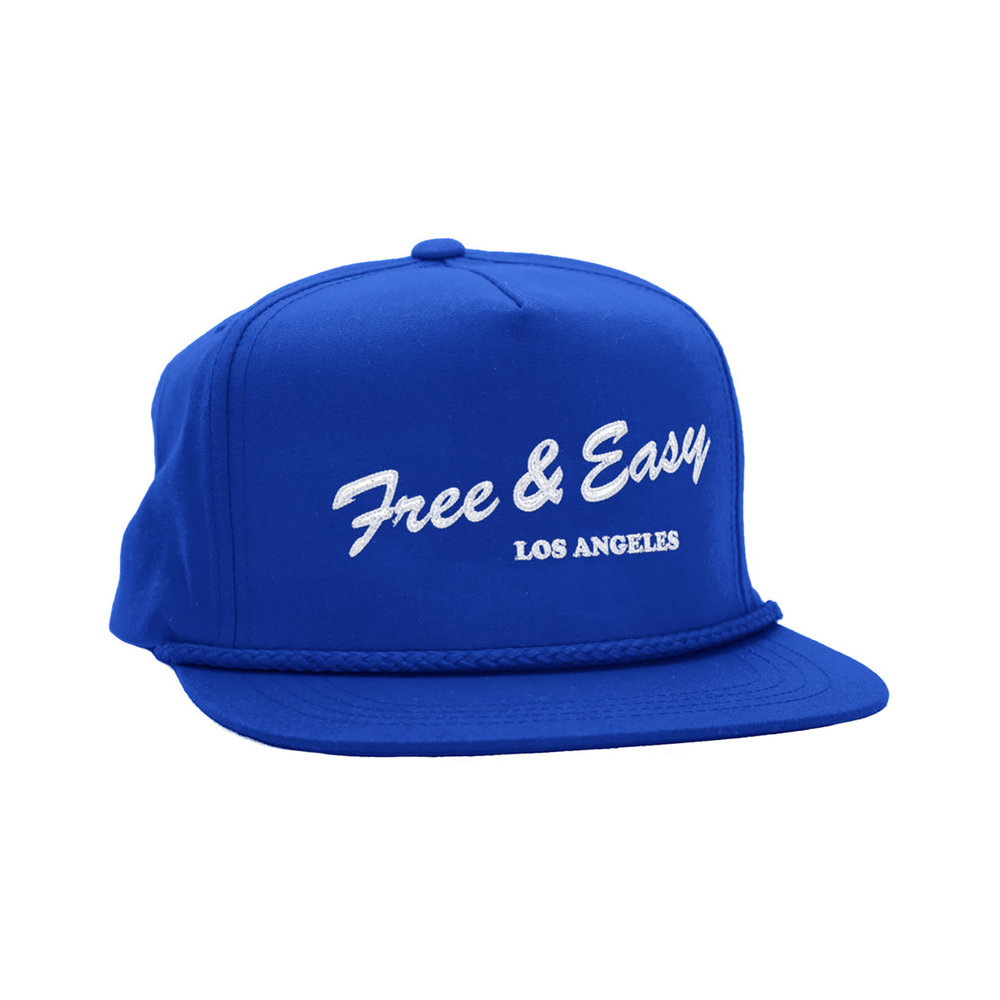 LA DELI CLASSIC HAT (ROYAL/WHITE)