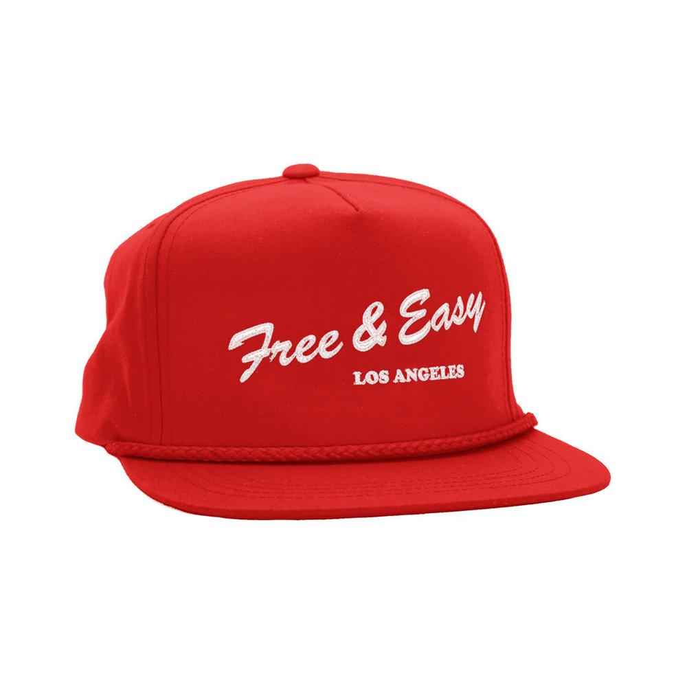 LA DELI CLASSIC HAT (RED)