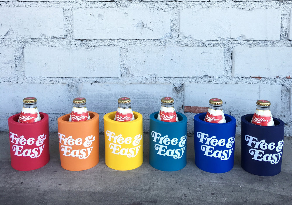 KOOZIE   STYLE # K0101  WHOLESALE: €2 PER UNIT  SUGGESTED RETAIL:  €5 PER UNIT