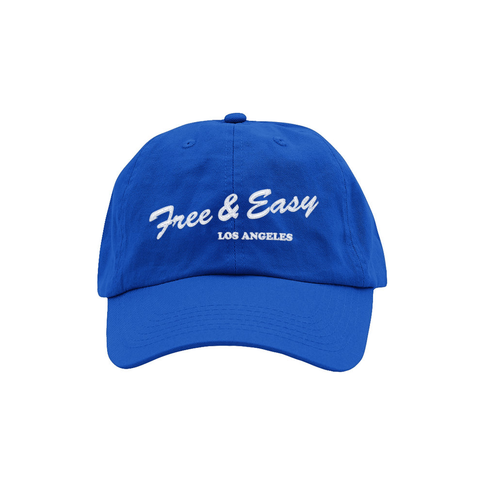 LA DELI DAD HAT (ROYAL/WHITE)