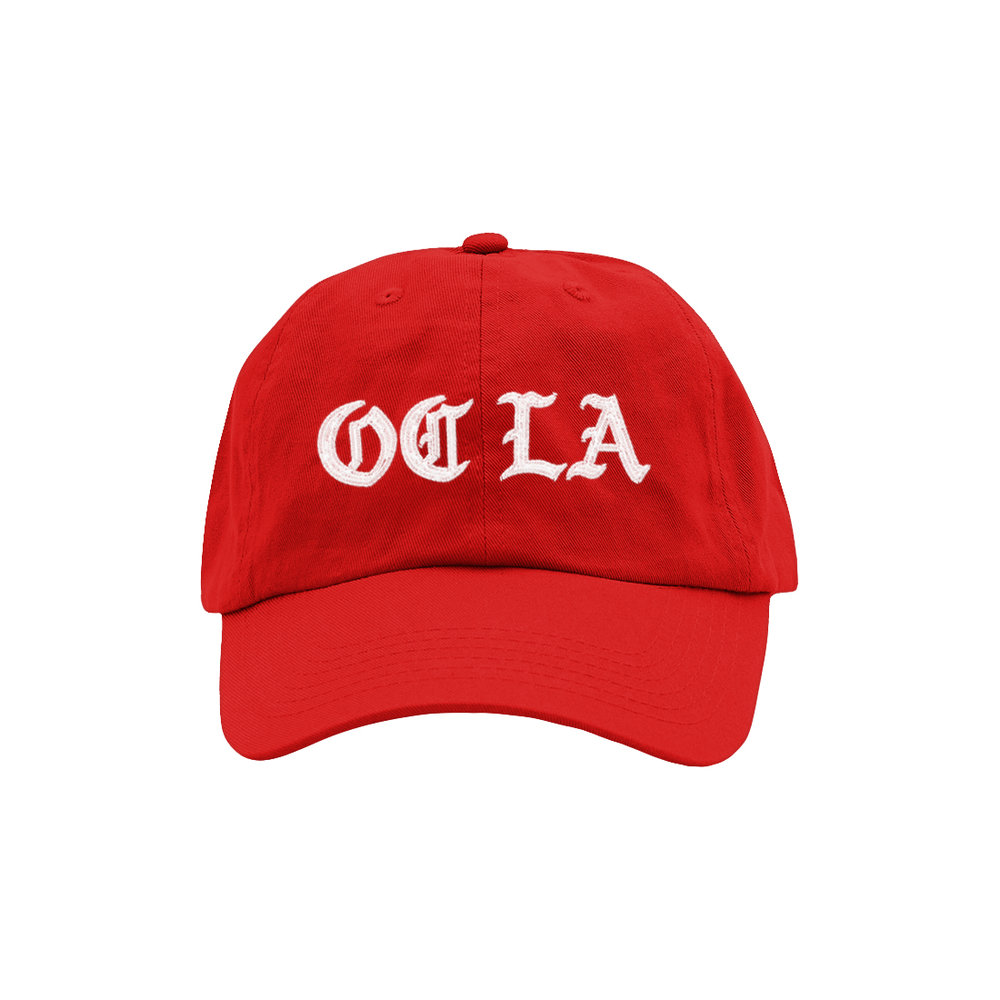 OC LA DAD HAT (RED)