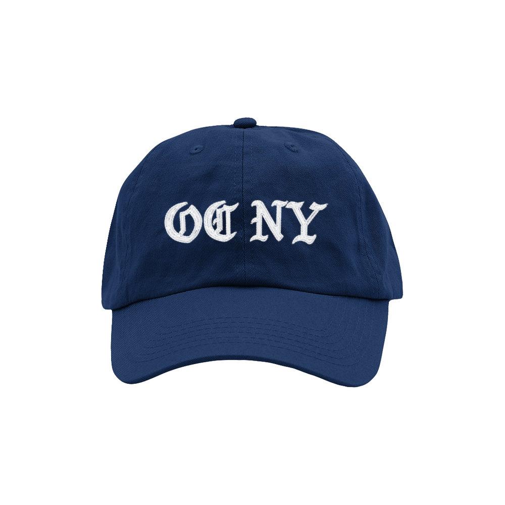 OC NY DAD HAT (NAVY)