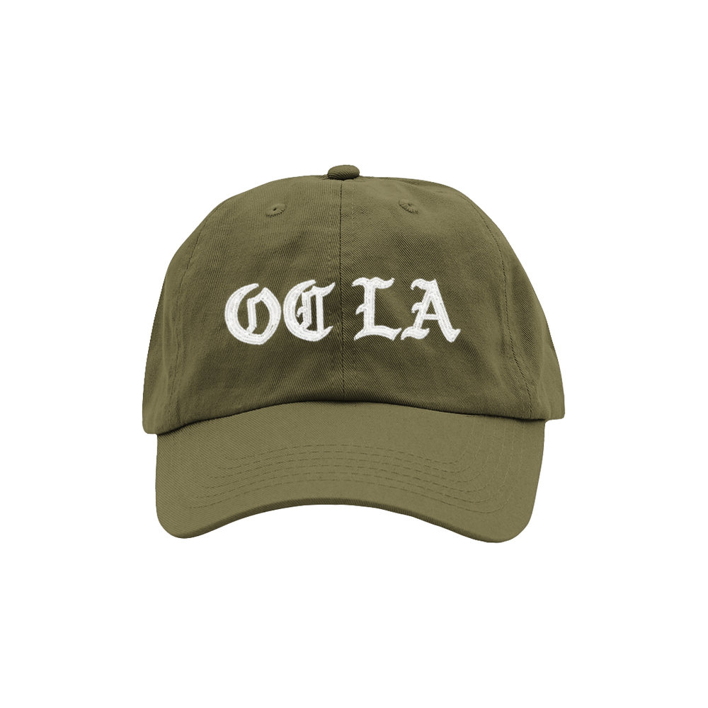 OC LA DAD HAT (OLIVE)