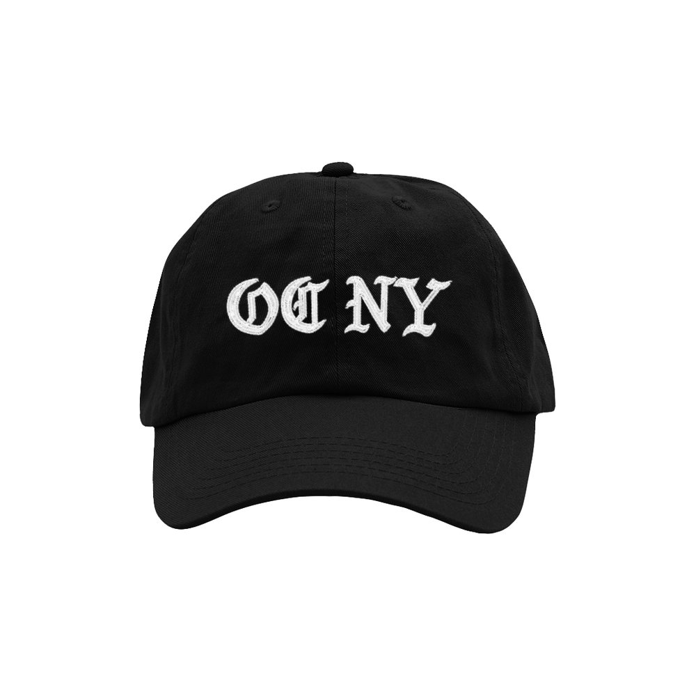 OC NY DAD HAT (BLACK)