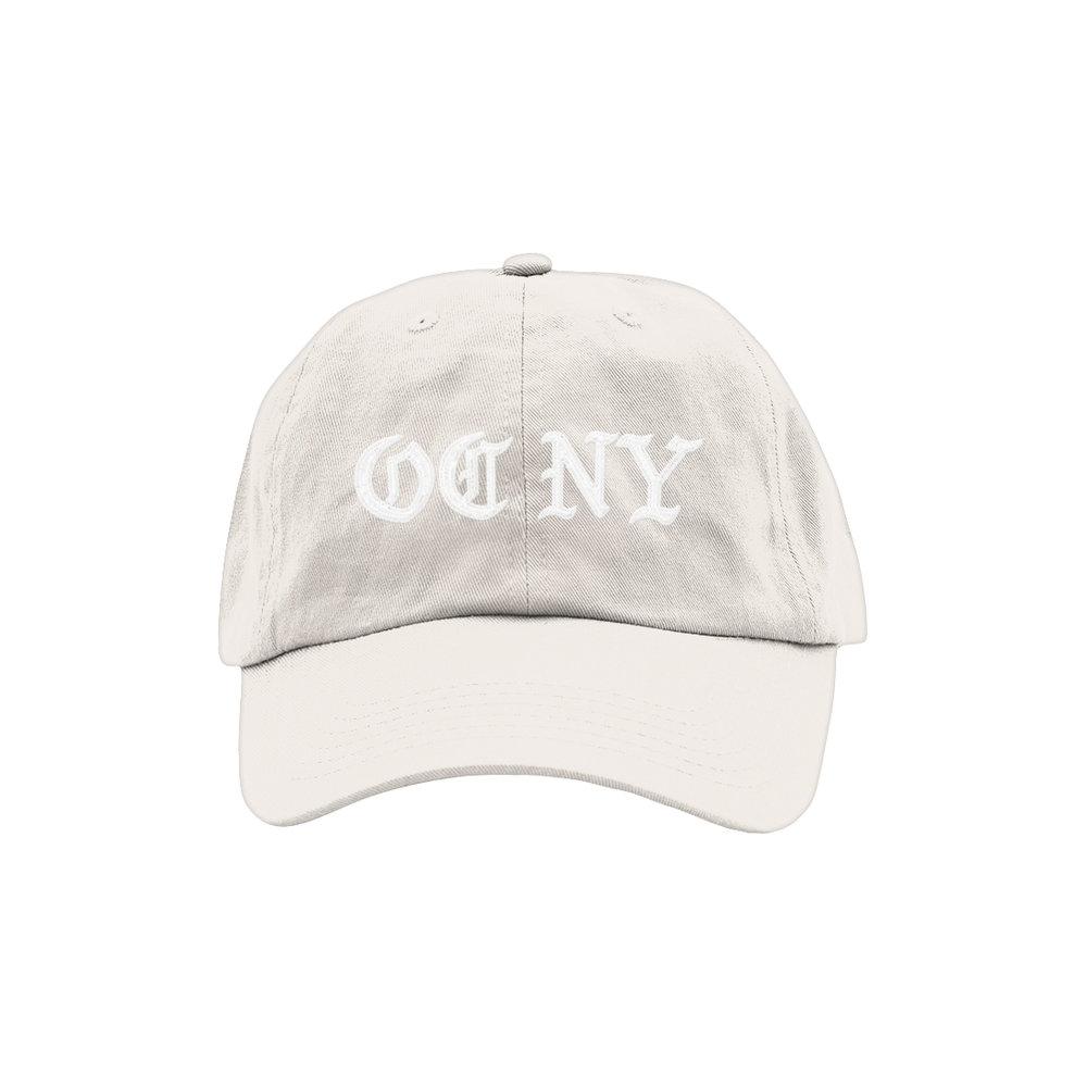 OC NY DAD HAT (STONE)