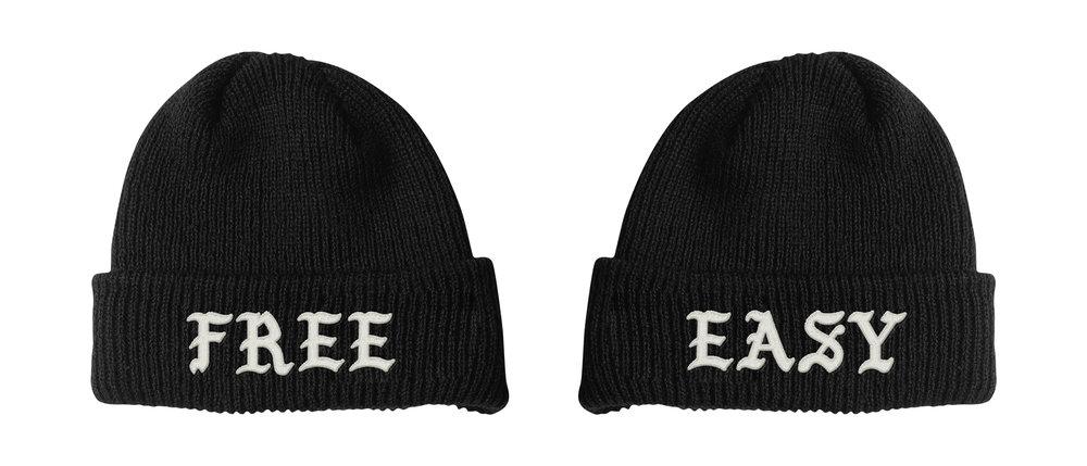 FREE / EASY BEANIE (BLACK)