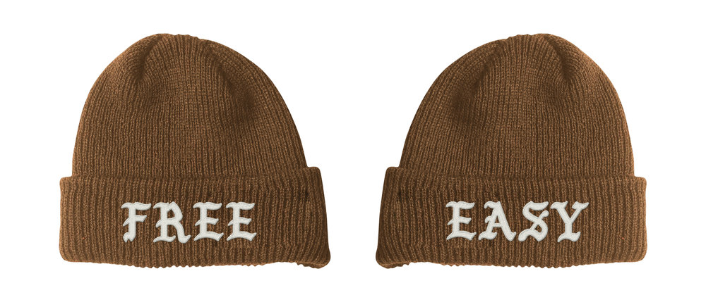FREE / EASY BEANIE (COYOTE)    STYLE #  B0202   WHOLESALE: €20  SUGGESTED RETAIL: €45