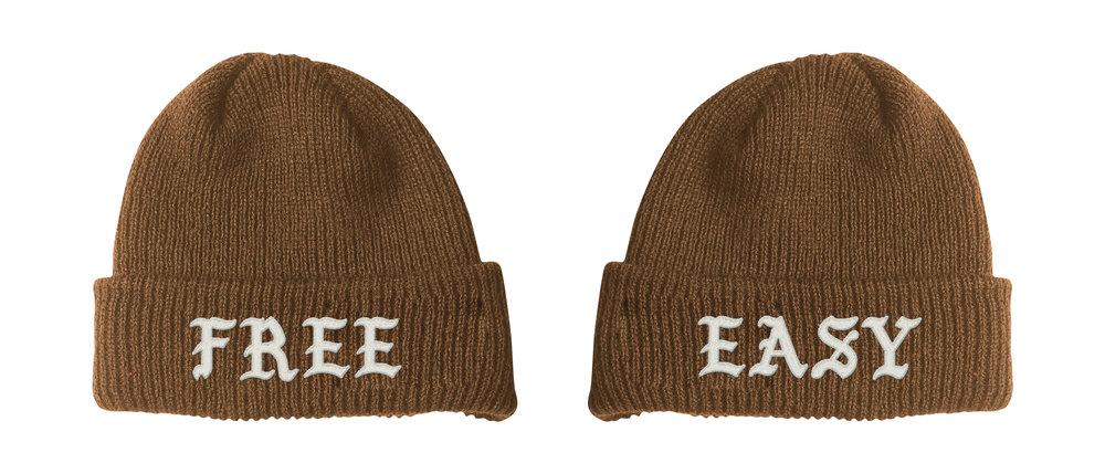 FREE / EASY BEANIE (COYOTE)