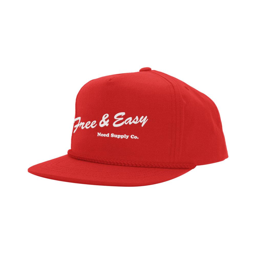 DELI CLASSIC HAT (RED)