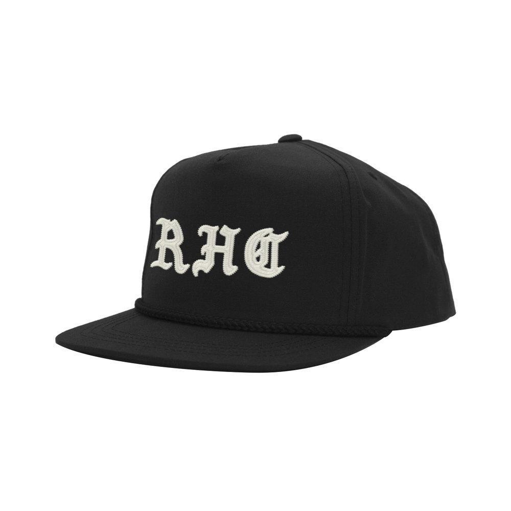 BLACKLETTER CLASSIC HAT (BLACK)